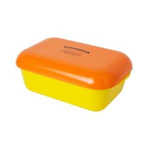 Chladící svačinový box Frozzypack Summer Edition, yellow/orange
