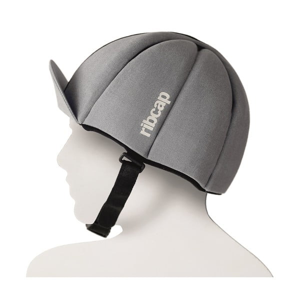 Čepice s ochrannými prvky Ribcap Hardy Platin, vel. L