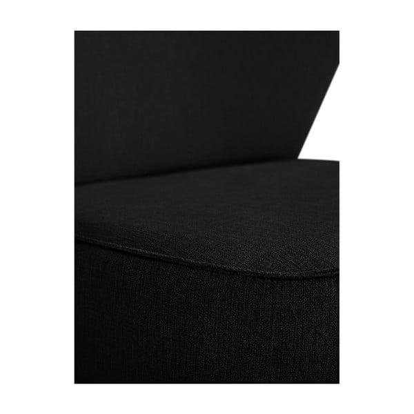 Černé křeslo BSL Concept Pearson