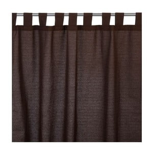 Závěs Costa Rica Dark Brown, 135x255 cm