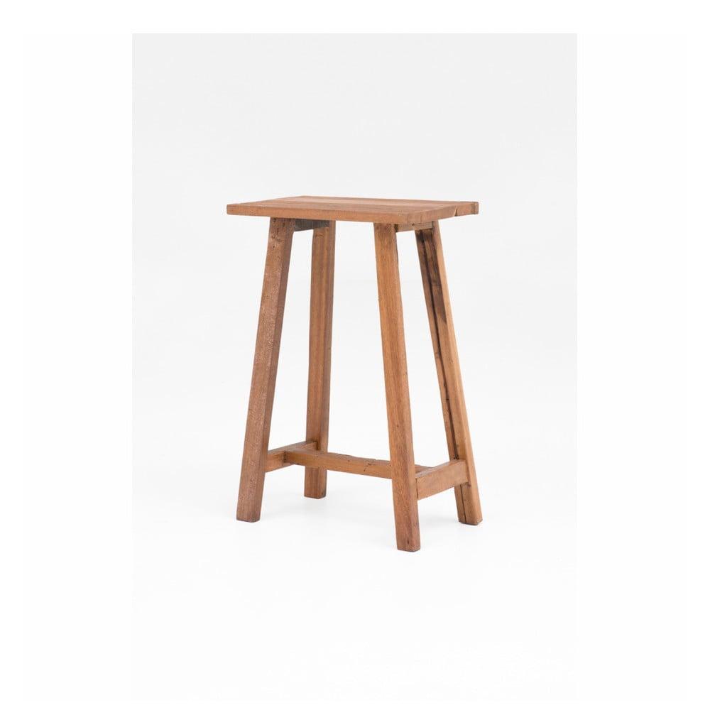 Dřevěná barová stolička WOOX LIVING Clara, výška 75 cm