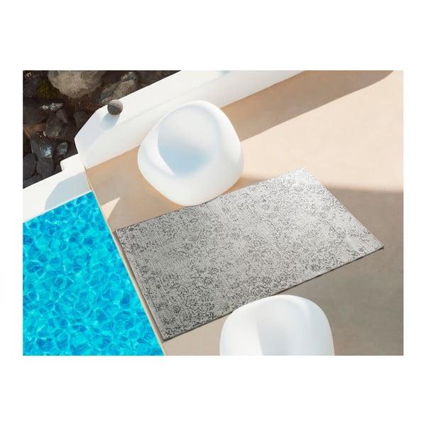 Šedobéžový koberec vhodný i na ven Universal Weave Kalimo, 77 x 150 cm