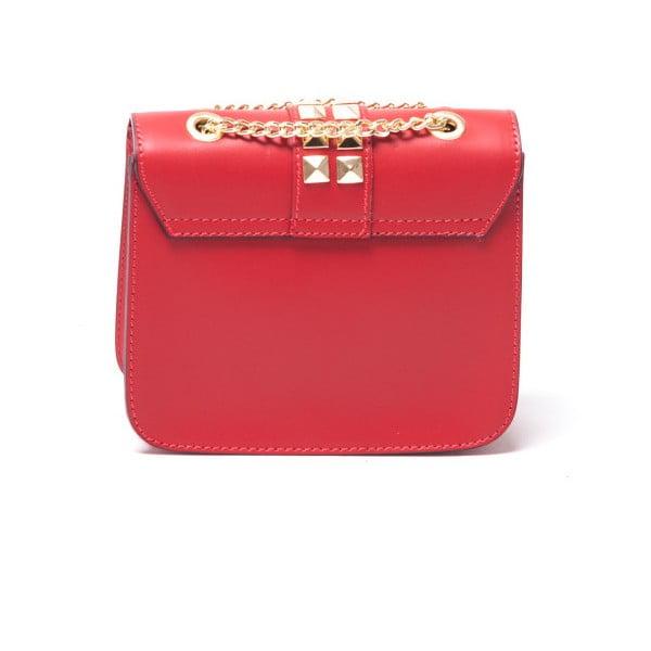 Kožená kabelka Sofia Cardoni 3027 Rosso