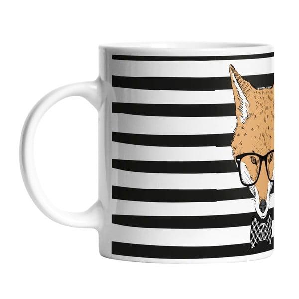 Keramický hrnek Handsome Fox, 330 ml