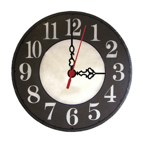 Nástěnné hodiny Dark Side, 30 cm