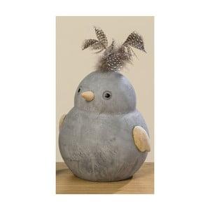 Dekorace ve tvaru ptáčka Boltze Fips, výška 15 cm