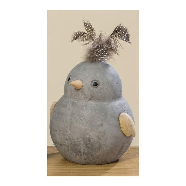 Dekoracja w kształcie ptaka Boltze Fips, wys. 15 cm