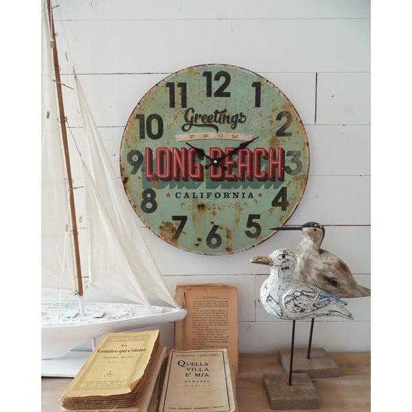 Nástěnné hodiny Long Beach, 45 cm