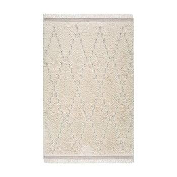 Covor Universal Kai Geo, 130 x 195 cm, alb