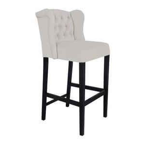 Světle šedá barová židle Mazzini Sofas Roco