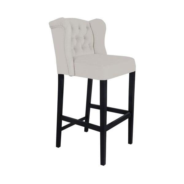 Svetlosivá barová stolička Mazzini Sofas Roco