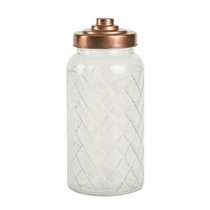 Recipient din sticlă T&G Woodware Lattice, 1400 ml