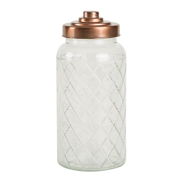 Skleněná dóza T&G Woodware Lattice, 1400 ml