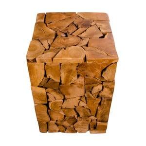 Scaun din lemn de tec House Nordic Mosaic