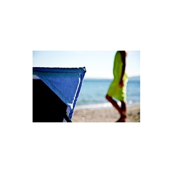 Hnědá plážová osuška s rohovými kapsami Terra Nation One Moe,90x180cm