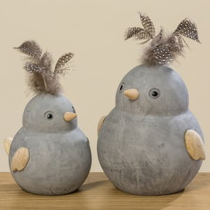 Sada 2 dekoračních ptáčků Boltze Fips