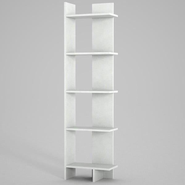 Biały regał Perla. wys. 170 cm