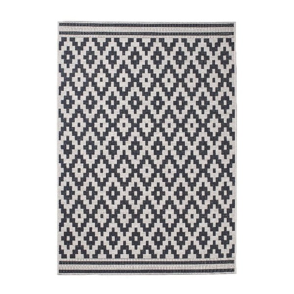 Covor Think Rugs Cottage 160 x 220 cm, negru