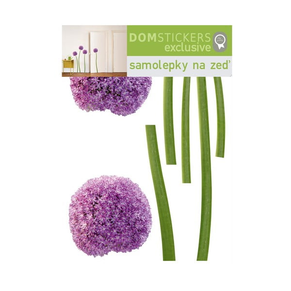 Samolepka Purple Flowers