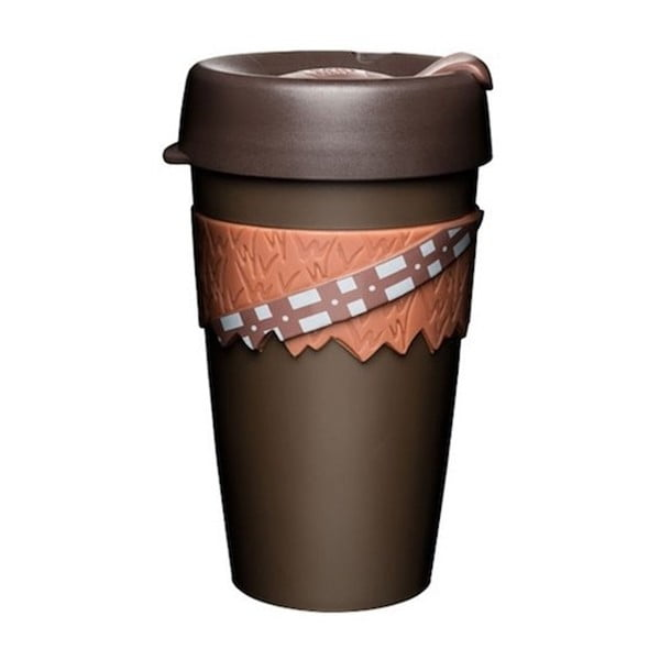 Cană de voiaj cu capac KeepCup Star Wars Chewbacca, 454 ml