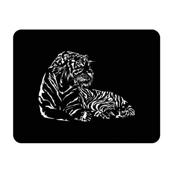Ścienna dekoracja świetlna Tiger, 82x67 cm