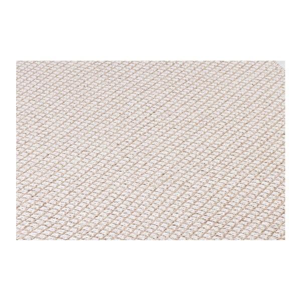 Krémový koberec vhodný do exteriéru Narma Diby, 70x100cm