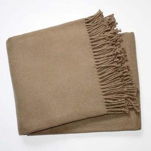 Pătură Euromant Basics, 140 x 180 cm, maro