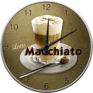 Hodiny Macchiato, 31 cm