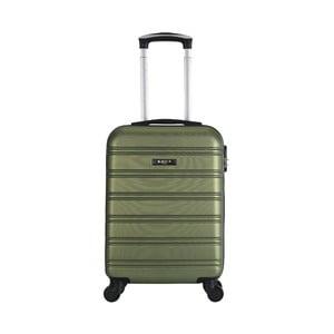 Tmavě zelený cestovní kufr na kolečkách BlueStar Bilbao, 35l