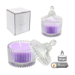 Vonná svíčka ve skle s vůní levandule Bombonera