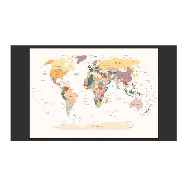 Velkoformátová tapeta Bimago World Map, 300x210cm