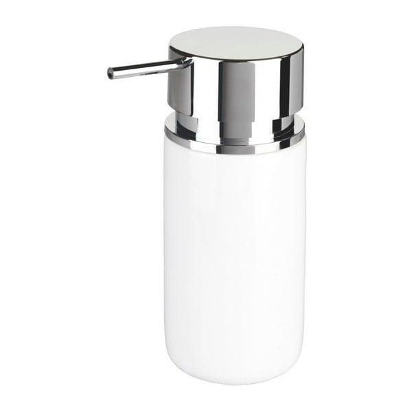 Biały ceramiczny dozownik do mydła Wenko Soap, 250 ml
