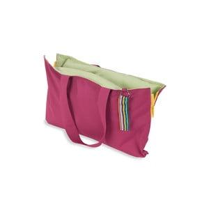 Skládací sedák Hhooboz 50x60 cm, růžový
