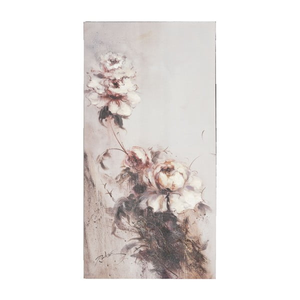Obraz s květinou Clayre, 60x120 cm