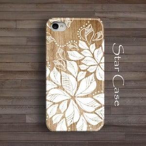 Obal na iPhone 5/5S Wood Floral Big