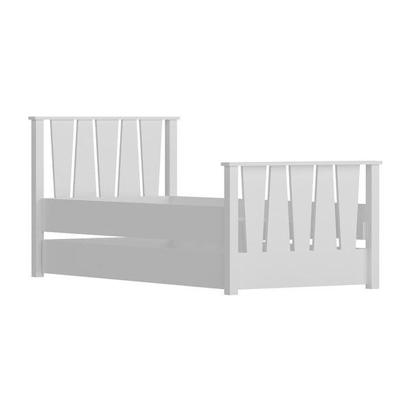 Nobe White fehér egyszemélyes ágy, 104 x 201 cm