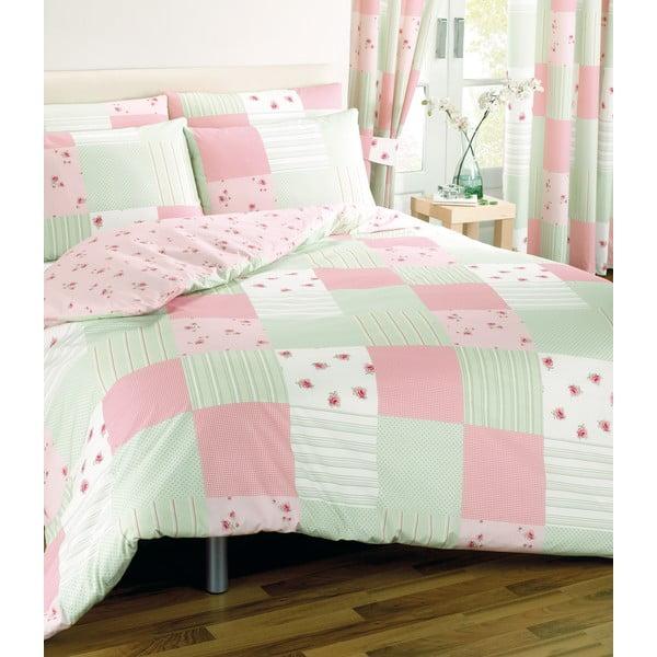 Povlečení Patchwork Pink, 200x200 cm