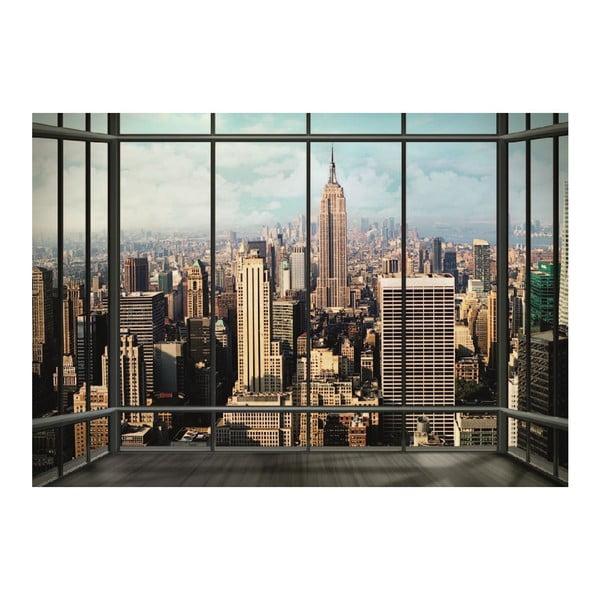 Velkoformátová tapeta New York Window, 360x253 cm