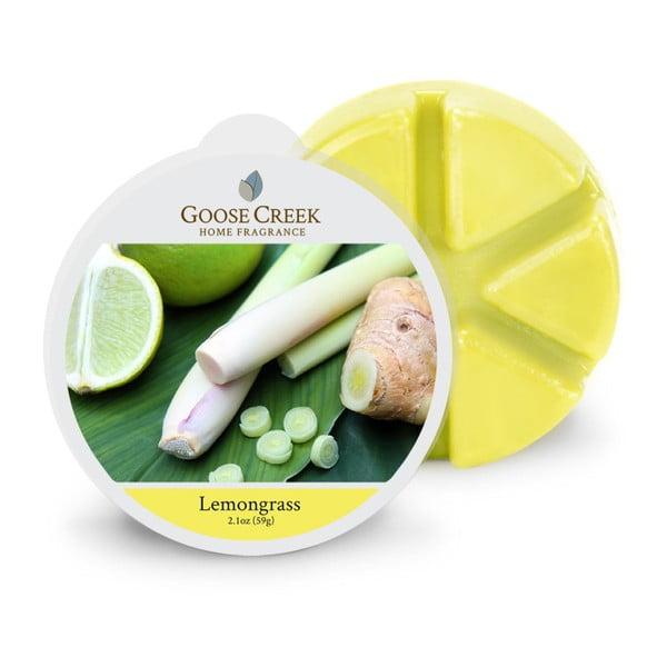 Ceară aromată pentru lămpi aromaterapie Goose Creek, lemongrass