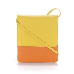 Kabelka Organiser Yellow