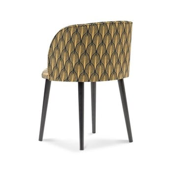 Scaun cu tapițerie de catifea Windsor & Co Sofas Aurora imagine