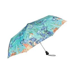 Tyrkysový skládací deštník Von Lilienfeld Irises
