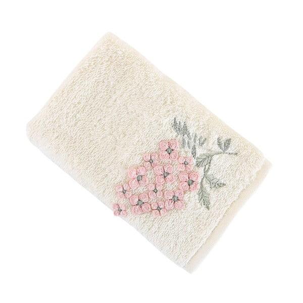 Krémový ručník Lavinya, 40x60cm