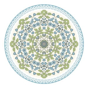 Sada 2 prostírání Blue Circle