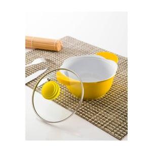 Rendlík s poklicí, 14 cm, žlutý