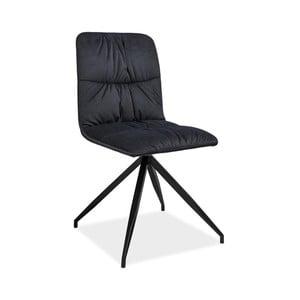 Černá jídelní židle Signal Alex