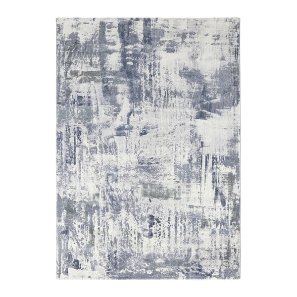 Covor Elle Decor Arty Vernon, 80 x 150 cm, albastru - gri