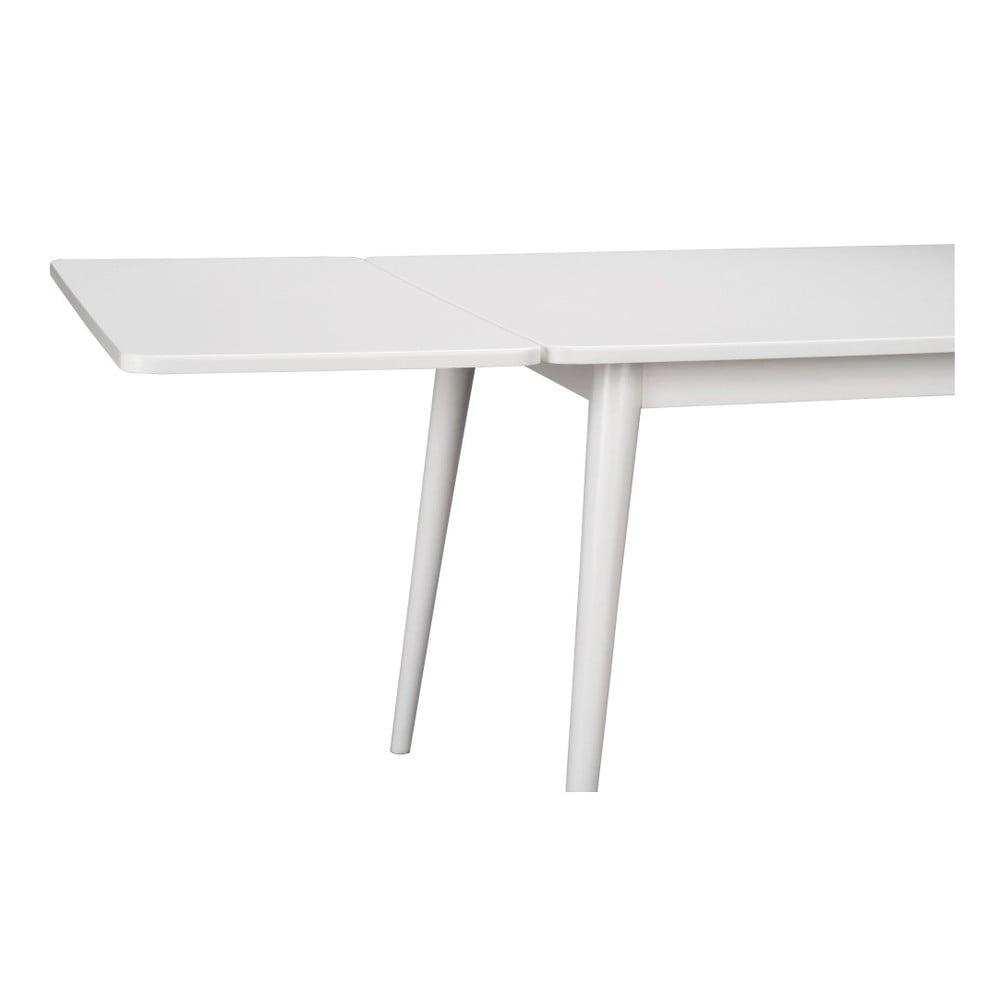 Bílá dubová přídavná deska k jídelnímu stolu Pan