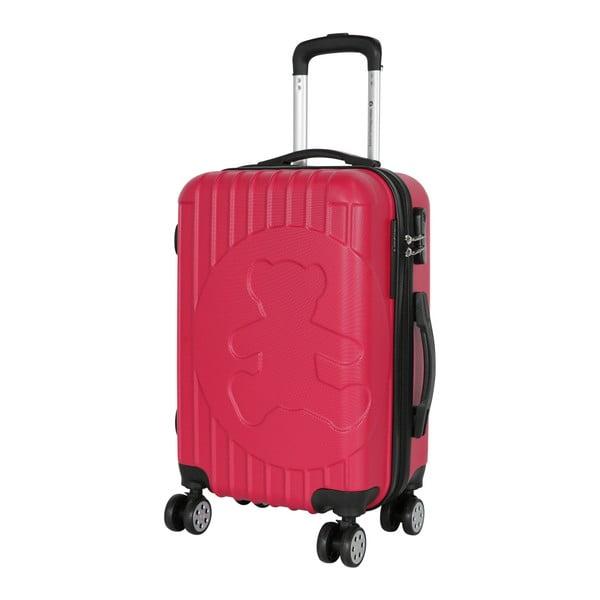 Růžový příruční kufr LULU CASTAGNETTE Philip, 44l