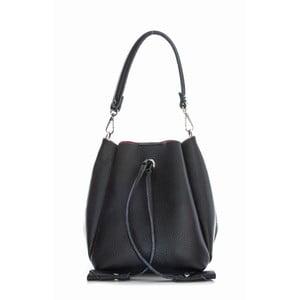 Černá kožená kabelka Sofia Cardoni Marana